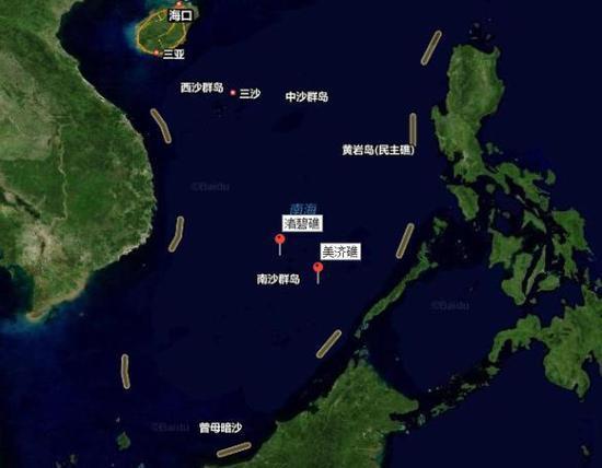 美官员称美军舰进入南海美济礁12海里 中方回应.jpg