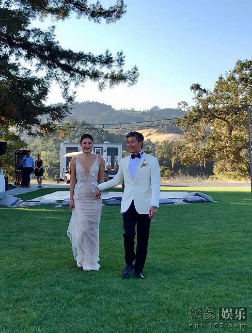黎明前妻乐基儿再婚 美国举行甜蜜婚礼2.jpeg
