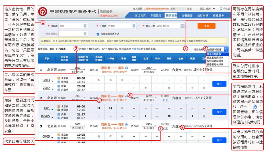 动车组今起可网上选座 覆盖C、D、G字头列车5.png