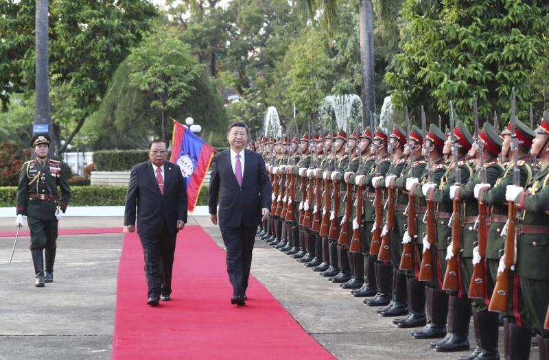 习近平同老挝人民革命党中央总书记本扬会谈4.jpg