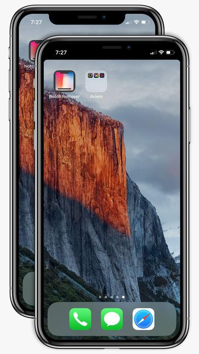 苹果应用商店惊现给iPhone X去刘海软件.jpg