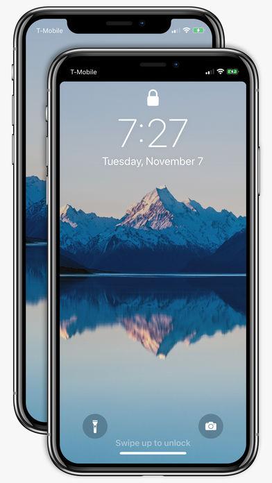 苹果应用商店惊现给iPhone X去刘海软件2.jpg