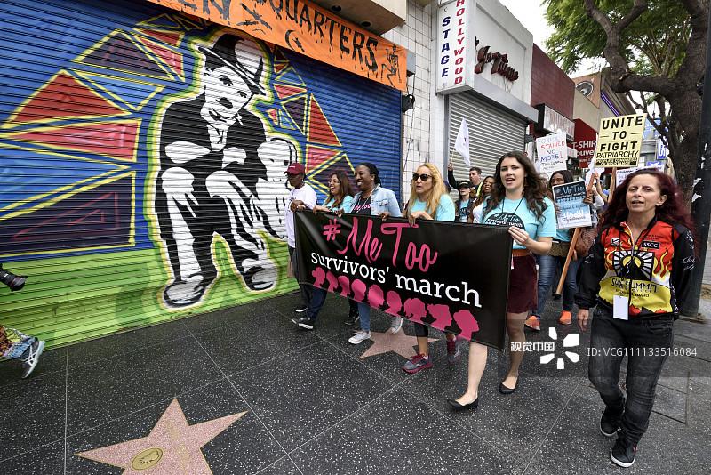 好莱坞爆发反性侵游行,示威牌有亮点.jpg