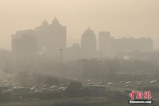 两部门:1至2月中国北方大气污染扩散气候条件偏差.jpg