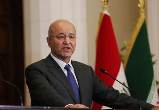 伊拉克总统萨利赫9号任命国家情报局局长卡迪米为新总理.jpeg