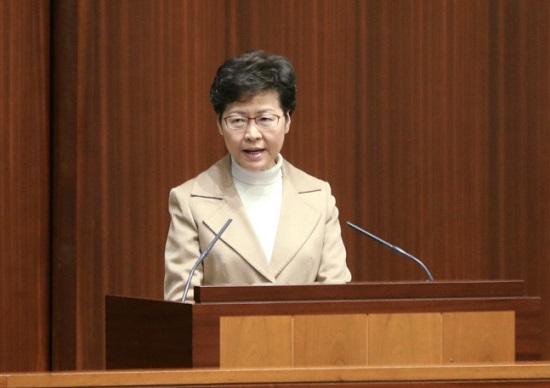 """全国人大表决通过""""香港国安法"""",林郑:欢迎"""