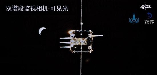 中国首次实现月球轨道交会对接 完成月壤转移2.jpg