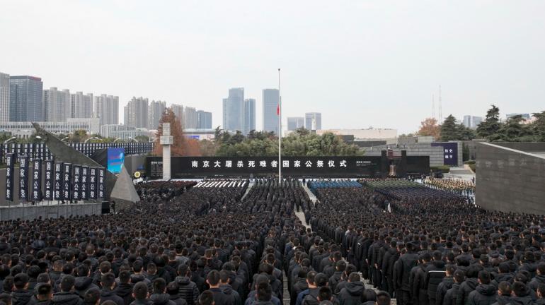 南京大屠杀80周年 中国举行国家公祭仪式